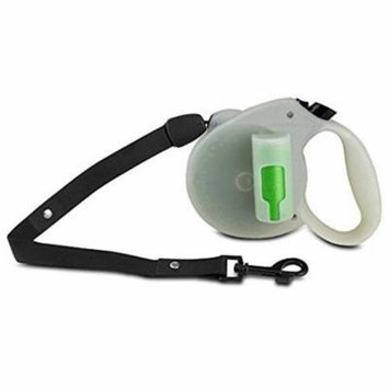 Paw Dog Leash, Green Pick-up Bags Retractable Large Dog Leashes, Glow In The Dark
