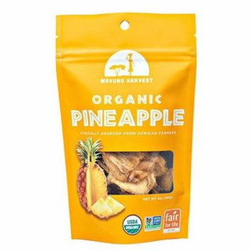 Mavuno Harvest Gluten Free Dried Pineapple Case of 6 2 oz.