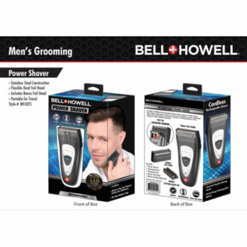 Bell + Howell Cordless Rechargeble Doil Foil Shaver/Trimmer Portable & perfect for Travel Use