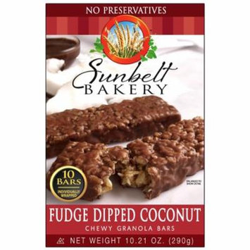 Sunbelt Bakery Fudge Dipped Coconut Granola Bars (1-Box)