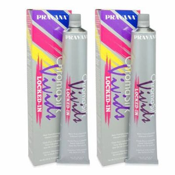 PRAVANA ChromaSilk Vivids (Locked in Yellow) 3 Fl 0z - 2 Pack