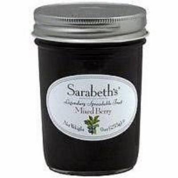 Sarabeths Fruit Preserves Mixed Berry Case of 6 9 oz.