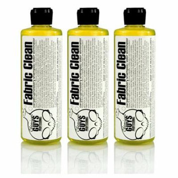 Chemical Guys Fabric Clean Carpet and Odor Eliminator (16 oz) - 3 Pack