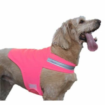 High Visibility Reflective Dog Vest by Dog Not Gone Tick & Insect Repelling All sizes Made in USA