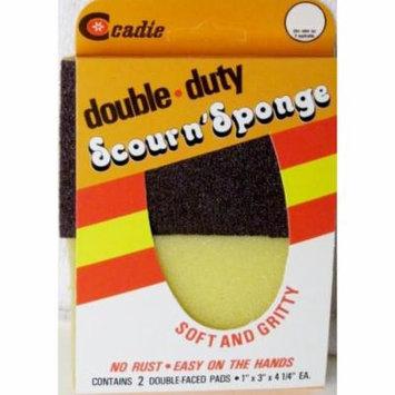 Scour'n Sponge Double Duty Soft & Gritty