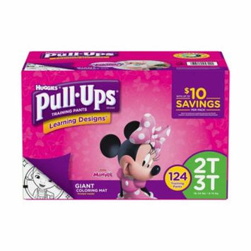 Huggies Pull-ups Training Pants for Girls 2T/3T Girls 124 Count