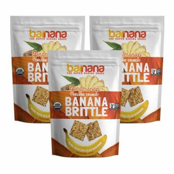 Wholesome Valley Foods Barnana Banana Brittle, 3.5 oz