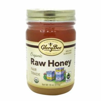 Glorybee Fair Trade Honey Organic Case of 6 18 oz.