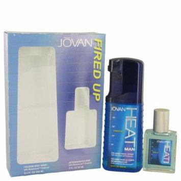 Jovan Men Gift Set -- 8.4 Oz Cologne Body Spray + 2 Oz After Shave/Cologne