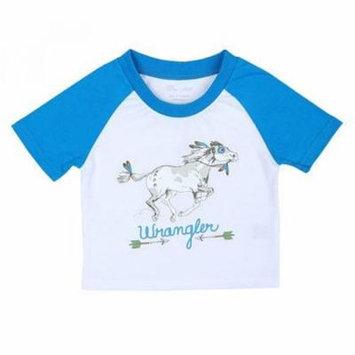 Wrangler All Around Baby Infant Boys Painted Pony Tee
