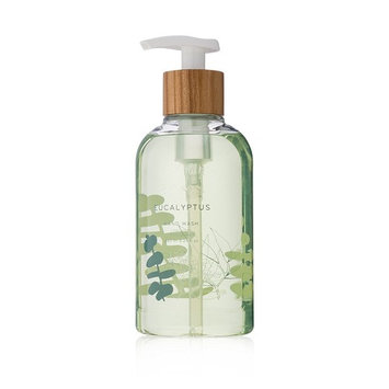 Thymes - Eucalyptus Hand Wash with Pump - Hydrating Liquid Hand Soap with Soothing Aloe Vera - 8.25 oz