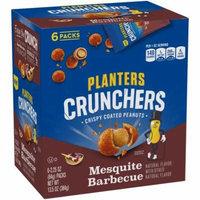 Planters Crunchers Mesquite BBQ Peanuts, 2.25 oz, 6 Ct