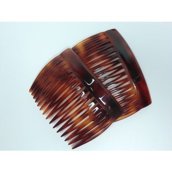 Charles J. Wahba 15 Tooth French Side Comb Pair - Tortoise by Charles J. Wahba