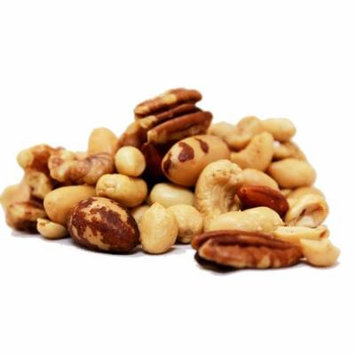 Deluxe Roasted Unsalted Mixed Nuts (No Peanuts) by Its Delish, 2 lbs