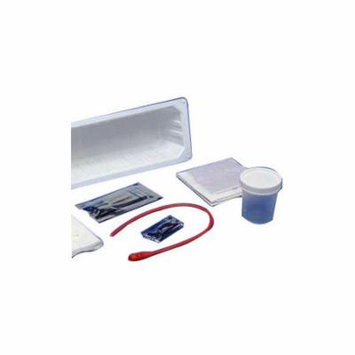 Kenguard dover red rubber open urethral catheter tray 14 fr part no. 75035 (1/ea)