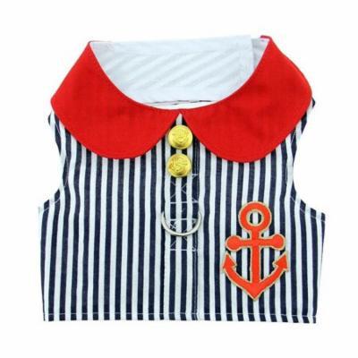 Doggie Design FH-SB-XS Sailor Boy Dog Harness Vest - Extra Small