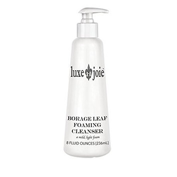 Borage Leaf Foaming Cleanser and Lavender Essential Oil Scent BHA Face Wash