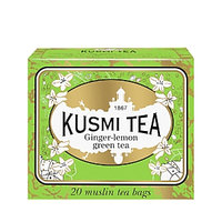Kusmi Tea Ginger-Lemon Green Tea Bags