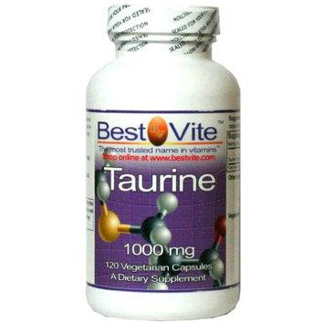 Bestvite Taurine 1000mg (120 Vegetarian Capsules)