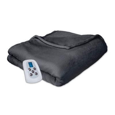 Therapedic® Silky Plush Heated Blanket