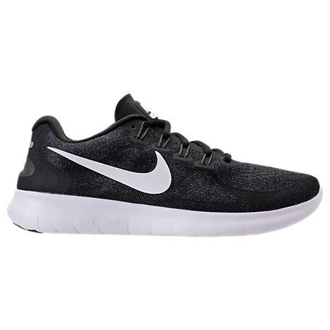 Nike Women's Free RN 2017 Running Shoes, Black