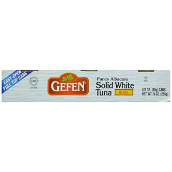 Gefen Solid White Tuna in Oil, 9 Ounce, 3 Count