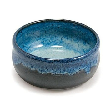 Hand Thrown Lather Bowl, Two-Toned Blue-Handmade in USA, Perfect Shaving Bowl. …