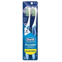Oral-B Pulsar Soft Bristle Toothbrush Twin Pack 2.0 ea(pack of 6)
