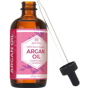 Argan Oil by Leven Rose - Pure, Cold Pressed, Virgin Moroccan Argan - 4 oz 118 ml