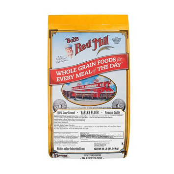 Bob's Red Mill Barley Flour, 25 Pound
