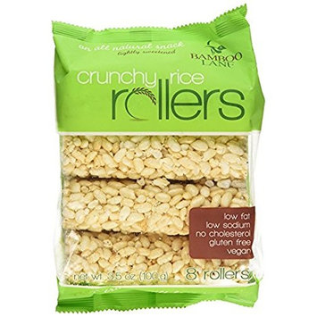 Bamboo Lane Crunchy Rice Rollers, 3.5 Ounce - Pack of 2