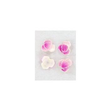 Zink Color Nail Art Blush Purple Curve Lily 4Pc Embellishment