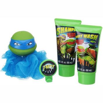 Teenage Mutant Ninja Turtles Soap & Scrub Shampoo and Body Wash Bath Set, 4pcs