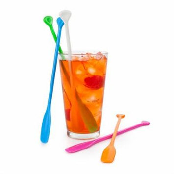 Drink Stir Sticks, Plastic Reusable Beverage Coffee Cocktail Stirring Sticks