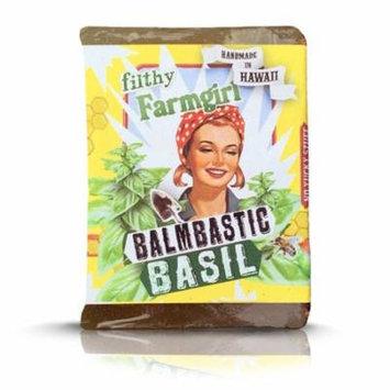 Filthy Farmgirl Balmbastic Basil 100% Natural Large Bar Soap