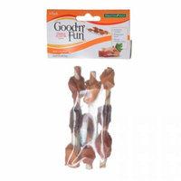 Healthy Hide Good 'n' Fun Triple Flavor Kabobs - Chicken, Duck & Chicken Liver 3 Pack - Pack of 4