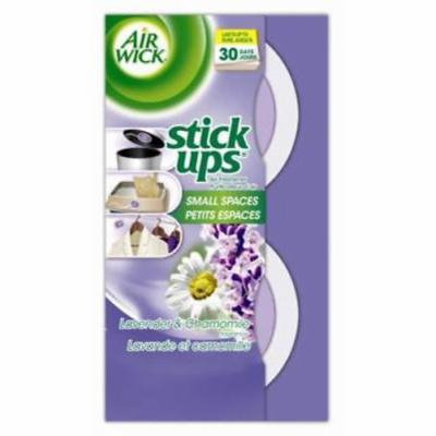 NEW 2PK Air Wick Stick Ups Air Freshener Neutralizer Dual Action Lavend