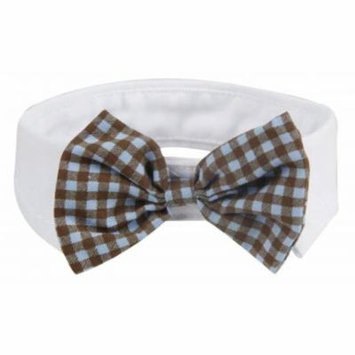 Fashionable And Trendy Dog Bowtie - Black And Yellow