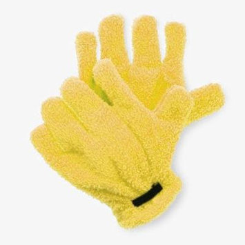 Top-Quality Microfiber Quick Hair Drying Gloves Hair Drying Towel -Yellow