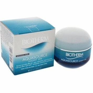 3 Pack - Biotherm Aquasource Spa Triple Effect Night Balm 1.69 oz