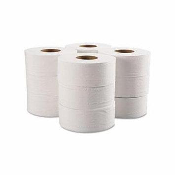 Jumbo Bathroom Tissue, 2Ply, White, 12 Rollcarton