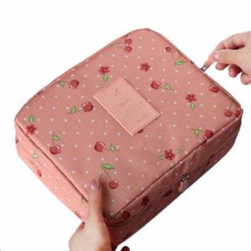 Mosunx Floral Nylon Zipper New Women Makeup bag Cosmetic bag Case Make Up Organizer G