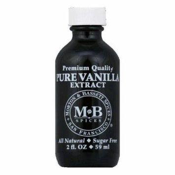 Morton and Bassett Extract Vanilla Vanilla Case of 3 2 Fl oz.