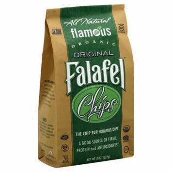 Flamous Falafel Chip Low Sodium Case of 12 8 oz.