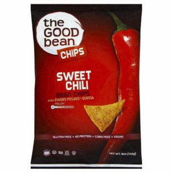 The Good Bean Chips with Sweet Potato and Quinoa Sweet Chili Case of 12 5 oz.