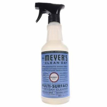 NEW 2PK 16 OZ MrsMeyer's Clean Day Multi Surface Everyday Cleaner Bluebell Sce