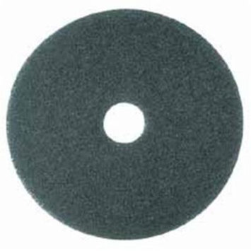 Cleaner Pad- Removes Dirt-Spills-Scuffs- 12in.- 5-CT- Blue