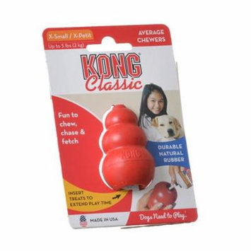 Kong Classic Dog Toy - Red X-Small - Dogs up to 5 lbs (2.25