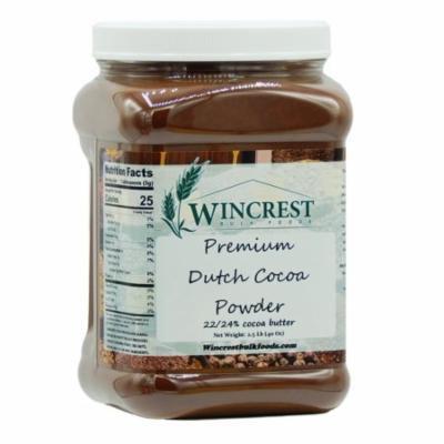 Premium High Fat Dutch Cocoa Powder - 2.5 Lb Tub