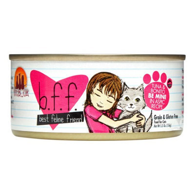 Best Feline Friend BFF Canned Cat Tuna & Bonito Be Mine 5.5 oz